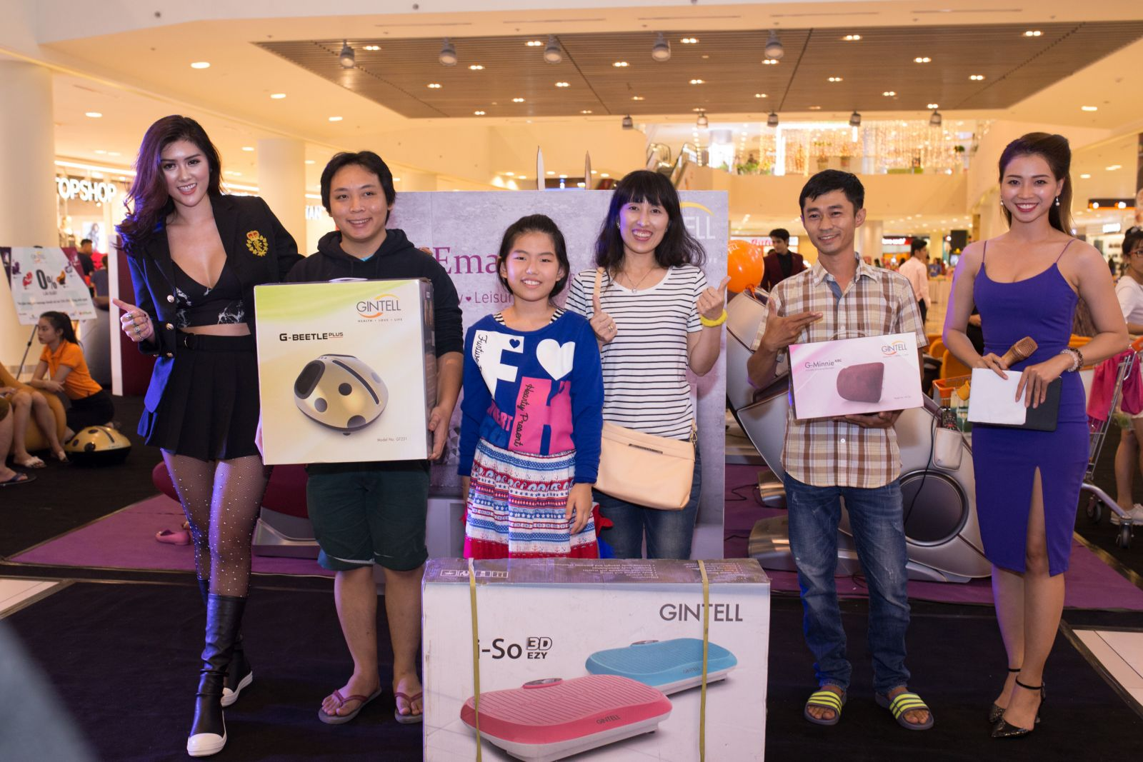 Gintell SC VivoCity event - October 2017